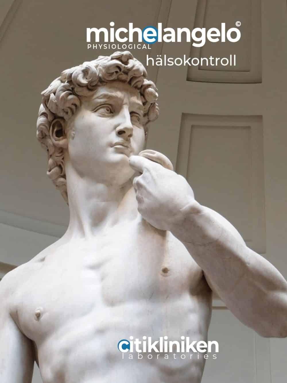 Michelangelo Physio Hälsokontroll med blodprov och mätningar på klinik