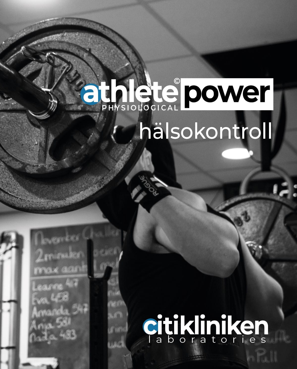 Athlete Physio Hälsokontroll via blodprov