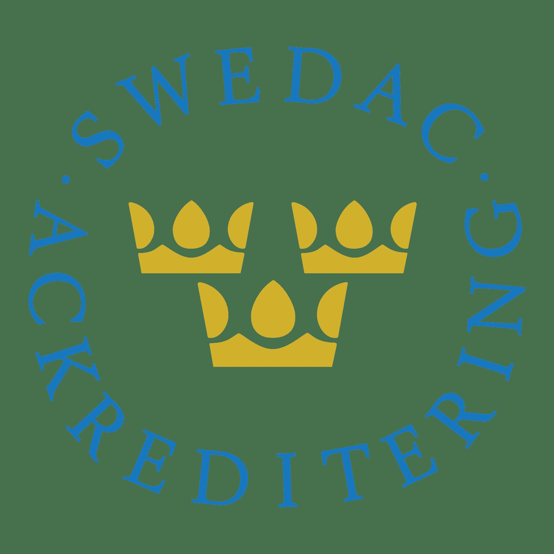 SWEDAC ACkREDITERING
